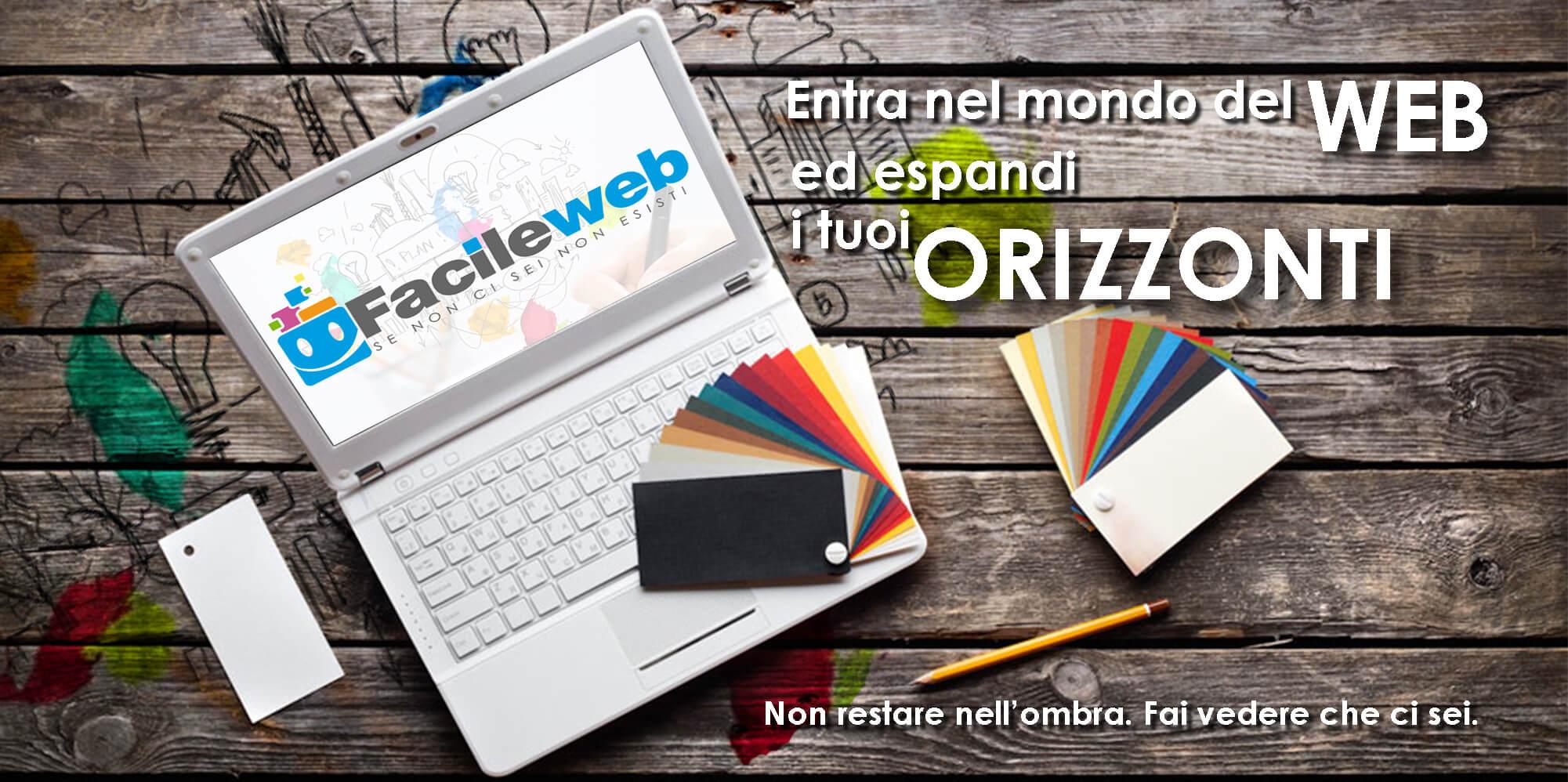 facele web realizzazione sito web on line